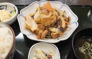 鶏もも肉の味噌炒め